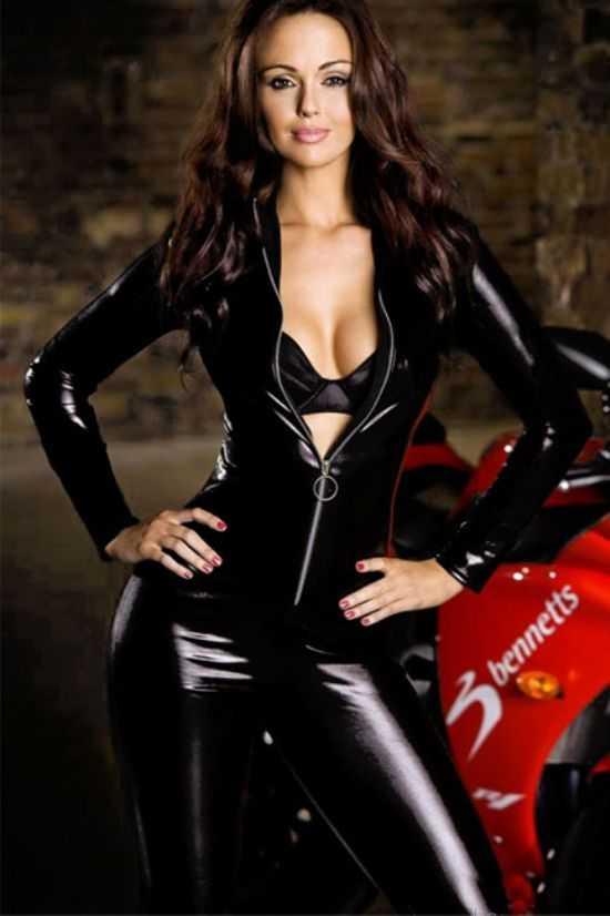 Deri Motorcu Kız kostümü | Tutku SexShop