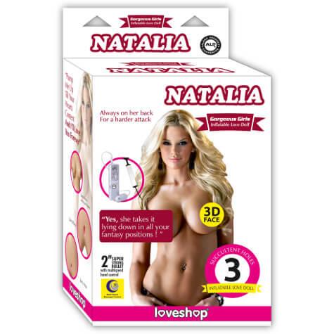 Şişme Bayan Natalia | Tutku SexShop